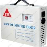 Lắp bình lưu điện cửa cuốn an toàn cho bé